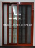Porte coulissante extérieure d'aluminium de trois voies (WJ-Alu-SD-001)
