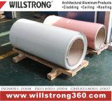 Bobines enduites par couleur enduite en aluminium des bobines PVDF