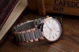 Het Merk van de luxe let vooral op OEM van het Horloge van de Mens van het Roestvrij staal