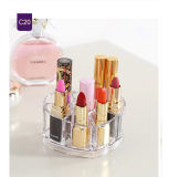Kosmetische Organisator van de Doos van de Opslag van de Lippenstift van de Desktop de Acryl