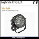 luz impermeable de la IGUALDAD de la etapa LED de 72pcsx3w RGBW