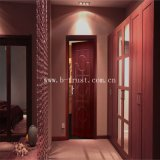 Kurbelgehäuse-Belüftung lamelliert Film-hölzerne Farbe für Tür-Panel