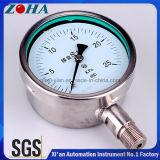 マイクロ耐圧試験のためのすべてのステンレス鋼のカプセルの圧力計
