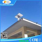 Réverbère solaire Integrated sec de jardin de DEL avec le détecteur de mouvement