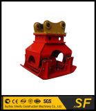 Гидровлическо вибрируйте приложение уплотнения, Compactor плиты для землечерпалки