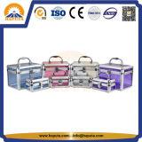 메이크업 (HB-2101)를 위한 알루미늄 아크릴 장식용 상자
