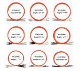 Sc-St milímetro Om2 50/125 Dx 2.0 Cable de remiendo óptico de la fibra de LSZH