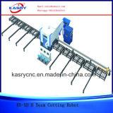 Máquina lidando do feixe do CNC H da fabricação da construção de aço