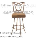灰色の椅子およびホーム家具のためのステンレス鋼フレームを食事する現代PU