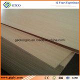 madeira compensada branca da melamina de 16mm para gabinetes