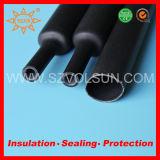 Tuyauterie de rétrécissement de la chaleur rayée par adhésif de réparation de fil