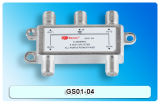 divisore di 4-Way Sat/CATV con la certificazione del CE