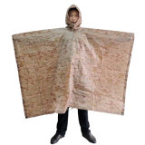 Impermeable de la capa de la PU del poliester