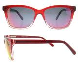 Preiswerte Großhandelssonnenbrille-UV400 Cer-Sonnenbrille-italienische Azetat-Sonnenbrillen mit Cer und FDA