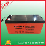12V 200ahの太陽PVシステムのための深いサイクルのゲルの太陽電池
