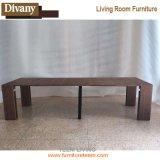 Античный тип складывая деревянный бортовой журнальный стол таблицы для живущий мебели комнаты