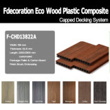 Decking composto da co-extrusão Textured de madeira WPC
