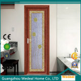 Puerta de aluminio interior para el chalet/el cuarto de baño/el servicio de las casas