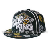 3D Embroidery Flat 테두리 Cap (JRN009)