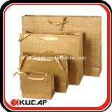 Bolso de encargo del regalo de las compras del papel de la alta calidad de la impresión