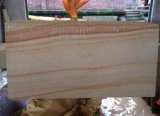 チークWood Sandstone、Wall CladdingのためのSandstone Tiles