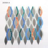 El arte de la pared coloreado junta las piezas de las hojas de cristal del azulejo de mosaico para la venta