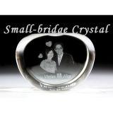 Álbum de foto cristalino de la boda 3D (ND30062)