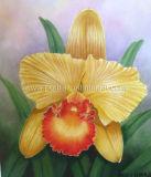 Картина маслом - цветок 3
