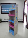 De Vertoning van de Vloer van het Karton van de Shampoo van de Baby van Sebamed met 4 Planken, de Volledige Afgedrukte Stevige Holding van de Tribune van de Vertoning van de Supermarkt 40kg