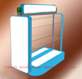 Supermarché acrylique Shelft de Cabinet de présentoir pour les chaussures (XD007)