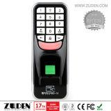 Fingerabdruck-Zugriffssteuerung mit Tastaturblock u. Identifikation-Leser
