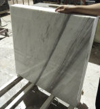 Marmo bianco dell'Italia Volakas, mattonelle di pavimento di marmo