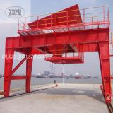 Trilho montado Mobile Dust Proof Port Cement Hopper