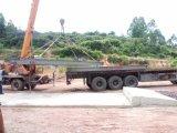 농장 차량 트럭은 브리지 가늠자의 무게를 단다