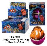 Lustiges magisches wachsendes Fischei-Spielzeug