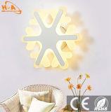 Lámpara de pared de la iluminación del material de acrílico de la alta calidad