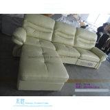 O sofá de couro moderno do Recliner ajustou-se para o teatro Home (DW-7012S)