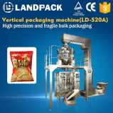 Máquina de empacotamento automática para microplaquetas de batata das microplaquetas
