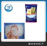 냄새가 좋은 5%는 1-5mm 실리카 젤 고양이 배설용상자를 착색했다