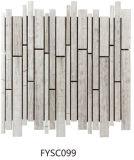 Mattonelle piacevoli di /Ceramic del mosaico del marmo di scatto/mosaico di vetro per le mattonelle della parete (FYSC099)