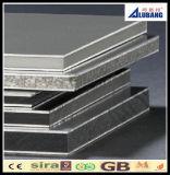 Parede externa painel composto de alumínio usado