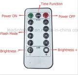 Cordes télécommande étanche Lumière 20 Lumières blanc chaud