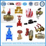 Válvulas de latón para el medidor de flujo de agua
