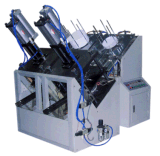 機械を形作る紙皿