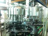 [ركن] آليّة محبوب زجاجة عصير يغسل يملأ ويغطّي ثلاثة في أحد آلة