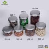 wasserundurchlässiges Haustier-Plastikglas der breiten Öffnungs-350ml für das Verpacken der Lebensmittel