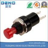 Interruttore di pulsante inserita/disinserita di mini potere autobloccante leva rotondo di 2 Pin
