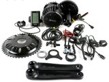 Motor MEADOS DE elétrico BBS03 dos jogos 48V 1000W 8fun da conversão da bicicleta do BTN