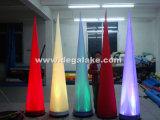 De hete Opblaasbare Slagtand van de Decoratie van de Verkoop Opblaasbare voor Gebeurtenis met LEIDEN Licht
