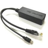 Potere del rifornimento del divisore di Microusb Poe per il router del Portable del telefono mobile